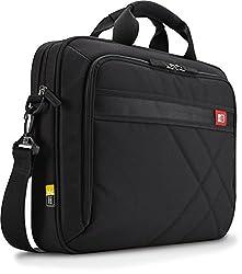 Case Logic 17-inch Laptop & Tablet Briefcase, Black (Dlc-117)