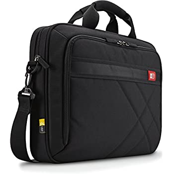 Case Logic 17-Inch Laptop and Tablet Briefcase, Black (DLC-117)
