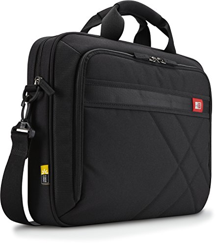 Case Logic 15.6-Inch Laptop and Tablet Briefcase, Black (DLC-115)