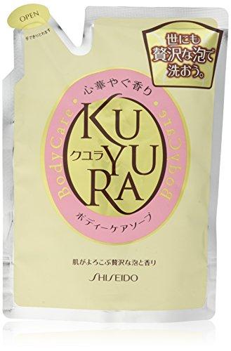 Shiseido KUYURA | Body Wash | Brilliant Fragrance Refill 400ml
