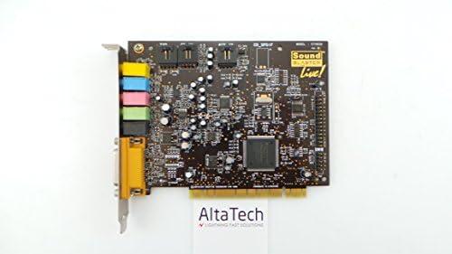 Amazon.com: Tarjeta de sonido PCI, ct4830 Sound Blaster Live ...
