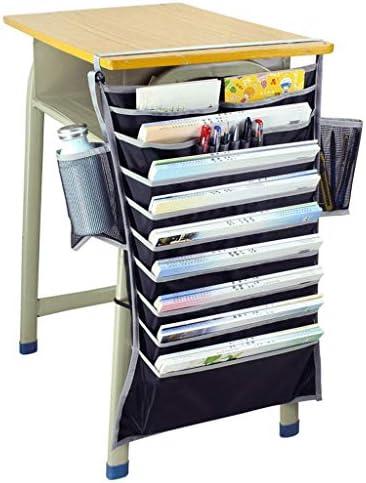 Ordner LF- Bücherregal Schreibtischaufbewahrung Büchertasche Multifunktionale Hängetasche aussortieren (Color : A, Size : 65cm*43cm)