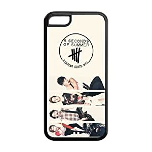 LJF phone case the Case Shop- 5SOS 5 Second of Summer Music Band TPU Rubber Hard Back Case Silicone Cover Skin for ipod touch 4 , i5cxq-777
