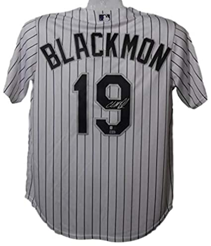 28aef921503 Image Unavailable. Image not available for. Color  Charlie Blackmon  Autographed Jersey ...