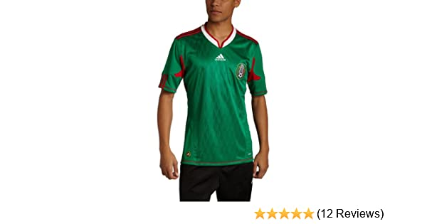62c8f3b59 Amazon.com   adidas Mexico Mens Home Jersey   Sports Fan Soccer Jerseys    Sports   Outdoors