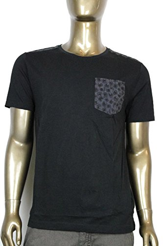 fb9f17c2f Gucci Men s Black Cotton With Leopard Print T Shirt 354513 1000 (2XL)