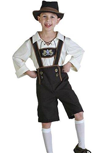 Qichuhua German Beer Kids Oktoberfest Man's Adult Halloween Costumes