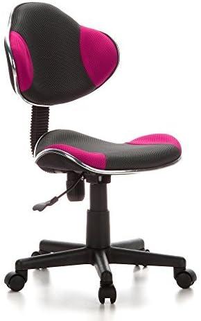 hjh OFFICE 670900 silla escritorio para niños KIDDY GTI-2 tejido ...
