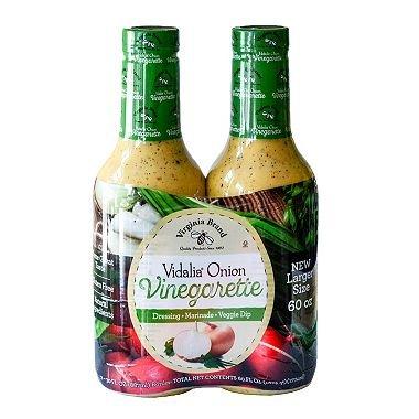 (Virginia Brand Vidalia Onion Vinegarette Salad Dressing - 2/24 oz. by Sam's Club)