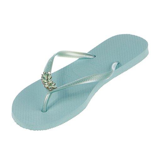 Havaianas Slim Flops Flip Lux Green Mentha Womens qfqSwxOC