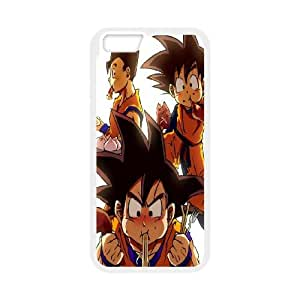 iPhone 6 Plus 5.5 Inch Cell Phone Case White Dragon Ball Z Goku Eating BNY_6903748