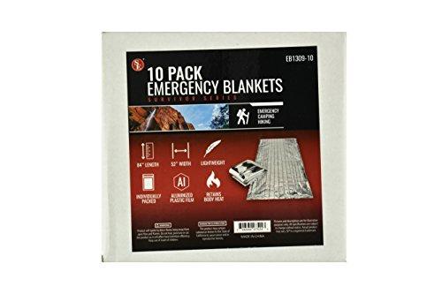 SE Survivor Series Emergency Blankets (10-Pack)