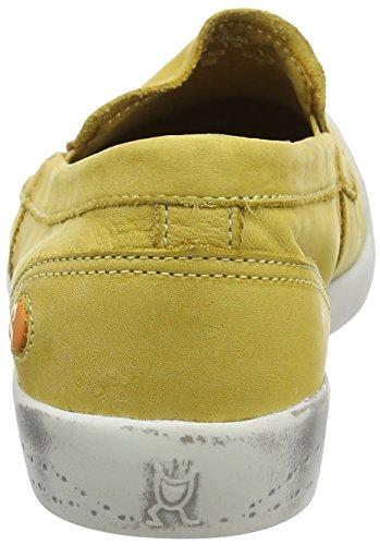 Softinos Women's Ita298sof Closed-Toe Pumps Yellow (Yellow) Fa03s4