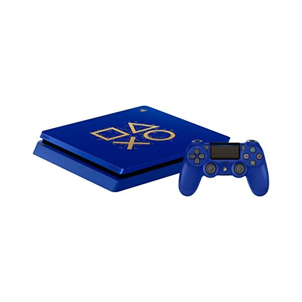 Playstation 4 Slim 2TB SSD Limited Edition Days of Play Blue Console with Controller Bundle Enhanced with Fast Solid… 7