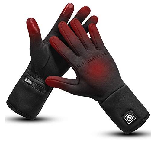 Verwarmde Handschoenen Liners Elektrische Handschoenen voor Mannen Vrouwen Oplaadbare Batterij Waterdichte Handwarmer…