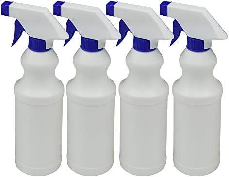 Namotu Kunststoff Spray Flaschen Leck Beweis Technologie Leere Handheld Spray Flasche Universal Spray Flasche, einstellbare Düse-Nebel & Stream Modi, 17 unzen Pack von 4