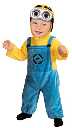 Easy Minion Costume (Rubie's Despicable Me 2 Minion Romper, Blue/Yellow, 6-12)