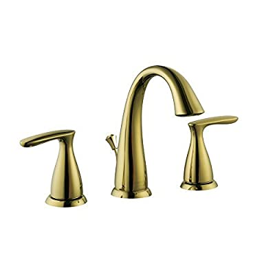 Aquasource Polished Brass 2-Handle Bathroom Sink