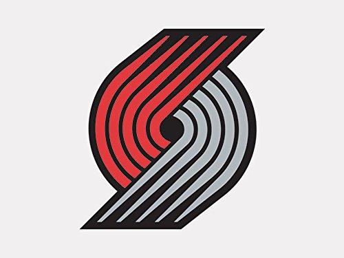 NBA Portland Trail Blazers Perfect Cut Color Decal, 4