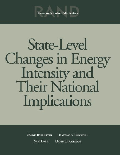 State Level Changes Energy Intensity & National Implications