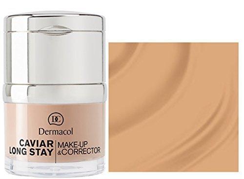 Dermacol CAVIAR LONG-STAY MAKE-UP & CORRECTOR - Long Stay Make up with Caviar Extracts and Perfecting Concealer - 30ml / 1oz (03 Nude)