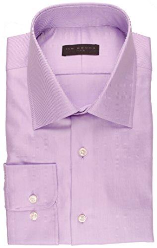 Ike Behar NYC Men's Cotton Twill Dress Shirt | Lavender 18 1/2 36/37