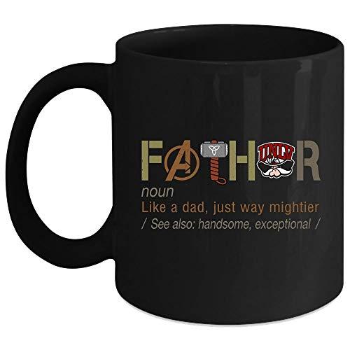 Fathor Mug, UNLV Runnin' Rebels Cup (Coffee Mug 11 Oz - Black)