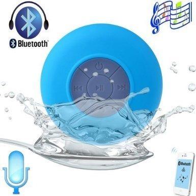 Blue - Waterproof Portable Wireless Bluetooth 3.0 Mini Speak