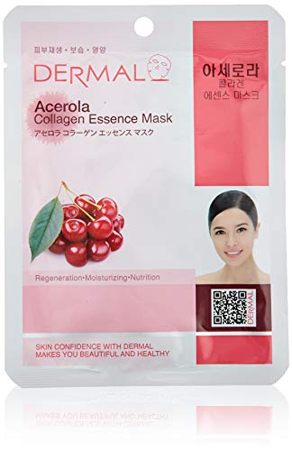 2 Sets of Dermal Korea Collagen Essence Full Face Facial Mask Sheet 16 Combo Pack B