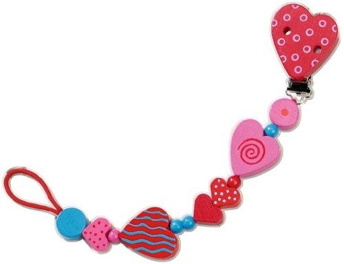 HABA 1063 Hearts Pacifier Chain