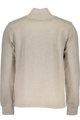 Uomo Beige Sacker Gant Half Rib Sweater zip 299 Felpa wxvxHYP0q