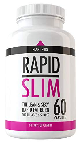 Rapid Slim Keto Pills – Advanced Weight Loss Supplements to Burn Fat Fast – Burn Fat Instead of Carbs – Best Ketosis Supplement for Men and Women – Supports Healthy Weight Loss – Energy and Metabolism Review
