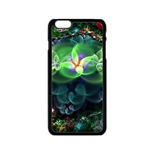 linJUN FENGColorful abstract fratal shiny flowers Phone Case for iPhone 6