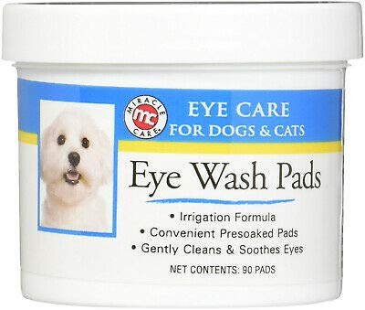 Miracle Care Eye Clear Pre-Soaked Pads 90 Ct
