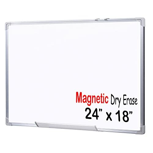 good EGI 24x18-Inch Magnetic Dry Erase White Board with Aluminum ...