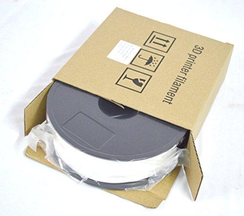 AKHILAM Premium Quality 1.75mm PLA 3D Printer Filament (White, 1Kg)