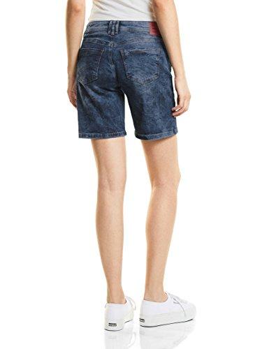 Street Donna Vintage Dark Pantaloncini Wash One Blu Blue 11385 aqrxF6Uan