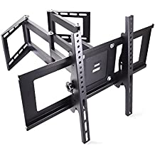Sunydeal Corner TV Wall Mount Bracket for 30 - 65 inch Samsung LG Vizio Sony Sharp AQUOS Sanyo Panasonic Emerson Insignia Westinghouse Element Dynex LCD LED Plasma Flat Screen Panel Display Smart TV