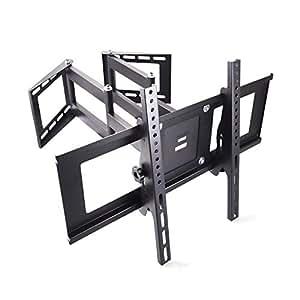 sunydeal corner tv wall mount bracket for 30 65 inch samsung lg vizio sony sharp. Black Bedroom Furniture Sets. Home Design Ideas