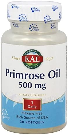 Kal 500 Mg Primrose Oil, 30 Count