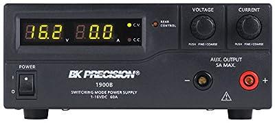 B&k Precision 1900b Dc Power Supply, 1ch, 1-16v, 60a, Adj