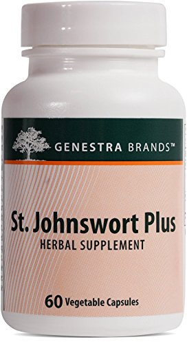 Genestra Brands - St. Johnswort Plus - Herbal Formula to Support Emotional Health* - 60 Capsules