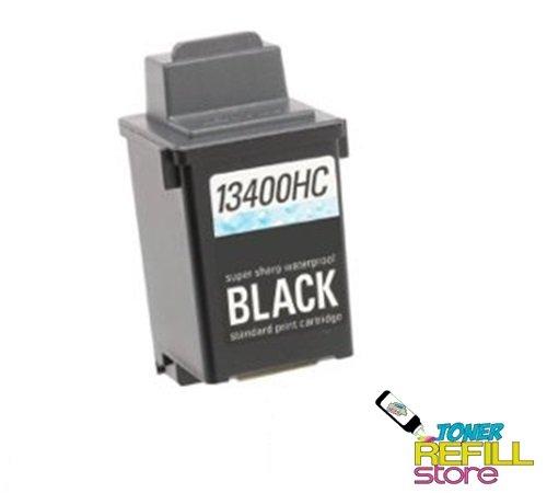Black Remanufactured Ink Cartridge Lexmark 13400HC Jetprinter 1000 1020 1100 2030 2050 2055