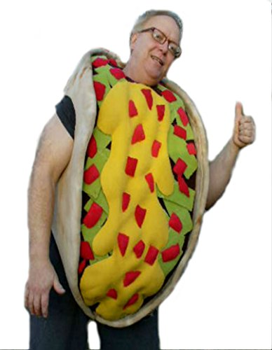 cjs huggables Mascots USA Custom Professional Low Cost Taco Mascot Costume -