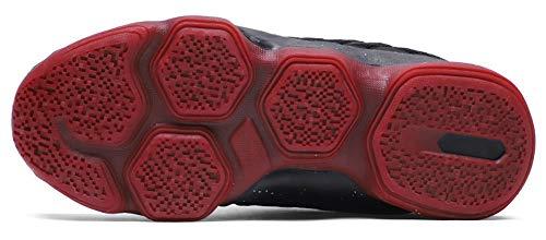 87b15fd553a2a3 JiYe Men's Fashion Basketball Shoes Women's Breathable Flyknit Sneakers