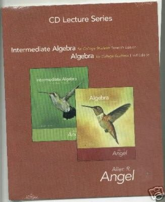 CD Lecture Series for Intermediate Algebra for College Students