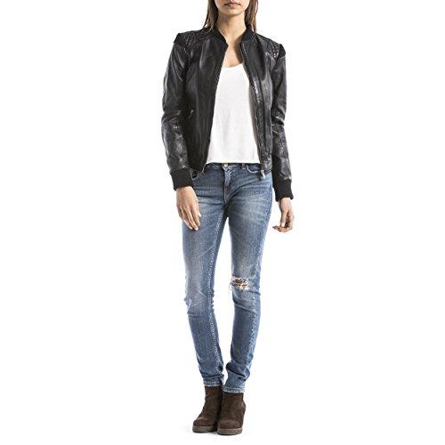 Noir Veste Fashion Femme Alba Wellford Noir Pour Blue gqF0pwO