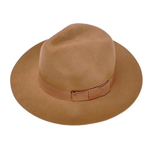 ZLYC  (Brown Cloche Hat)