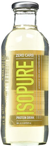 Natures Best Isopure Zero Carb Ready-to-Drink, Coconut, 24.4 Pound
