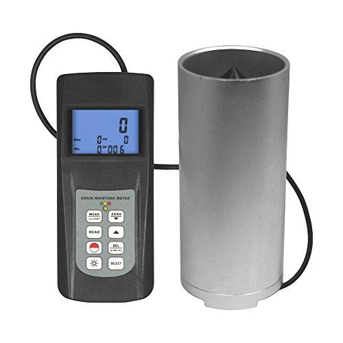 MC-7828G Digital Grain Moisture Meter Grist Corn Oat Rice Pepper Water Tester 0 ~ 50% with Data Memory